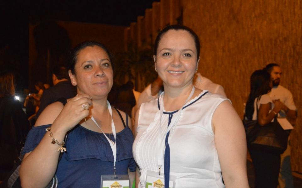 Jackeline Granados y Luz Adriana Gallego.