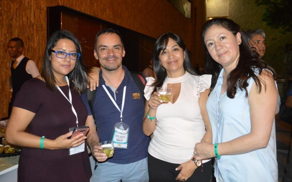 Paula Rodríguez, Heyner Cortés, Fabiola Herrera y Angélica Morales.