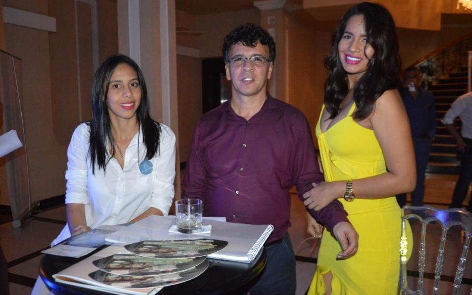 Darley Marenco, Jenner Otega y Yulidma Herrera.