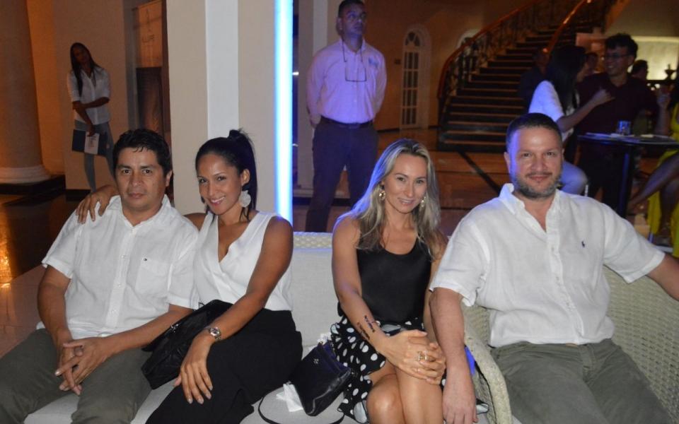 Edgardo Vives, Viancy Camacho, María Ciro Pinto, Óscar Ariza.