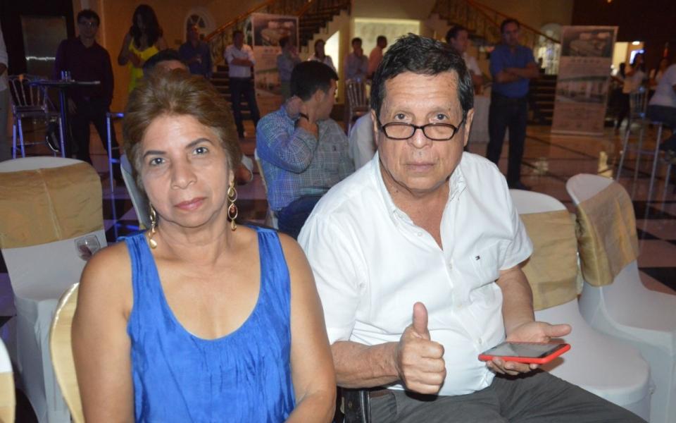 Miriam Altafulla y Samuel Figueroa.