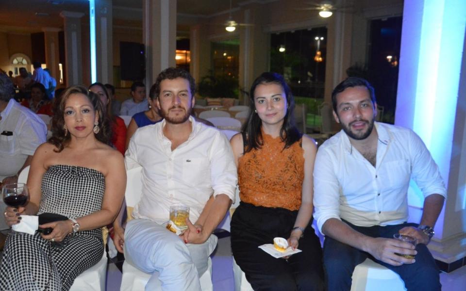 María Eugenia Carreño Rojas, Iván Duarte Sanmiguel, Katherine Arévalo y David Blanco Vargas.