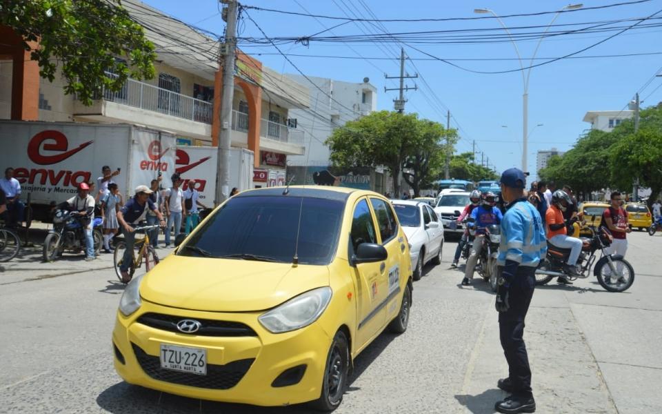 La emergencia causó congestión en la movilidad en el sector de los hechos.