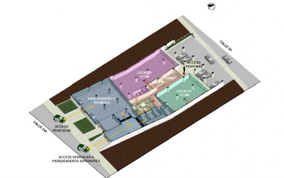 Diseño interior del proyecto.