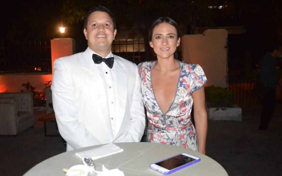 Camila Uribe y Juan Camilo Meza.
