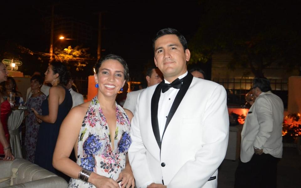 Catalina Rueda y Omar J. Salas.