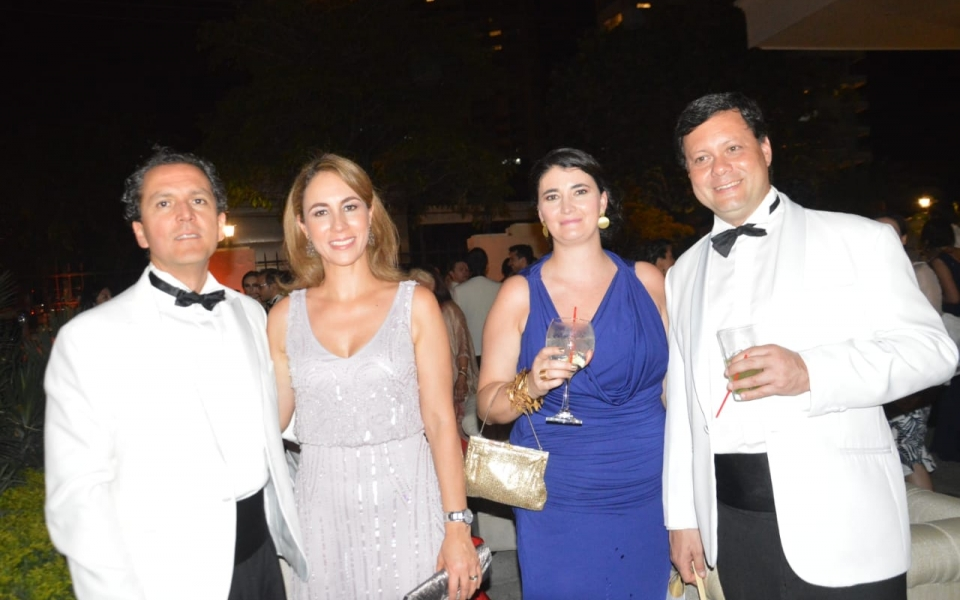 Camilo Obando, María Carolina Herrera, Estefanía Betancur y Juan Manuel Herrera.