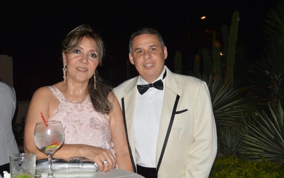 Jaime Brito y Nadyme Abuchaibe.