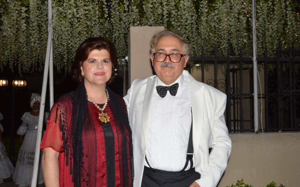 Felipe Cifuentes y Marcela Castro de Lafaurie.