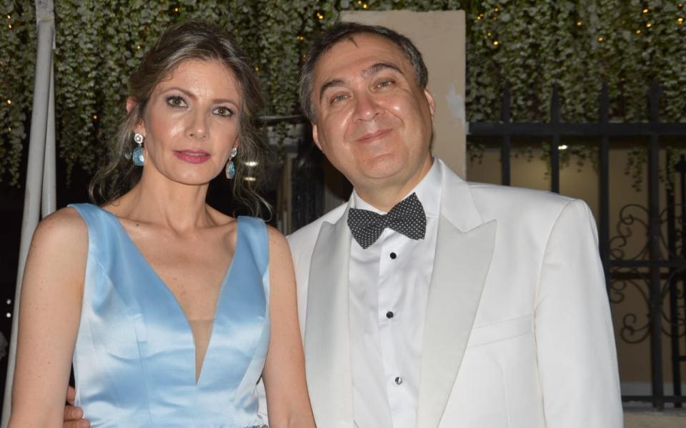 Manuel Cifuentes y Giovanna Sánchez.