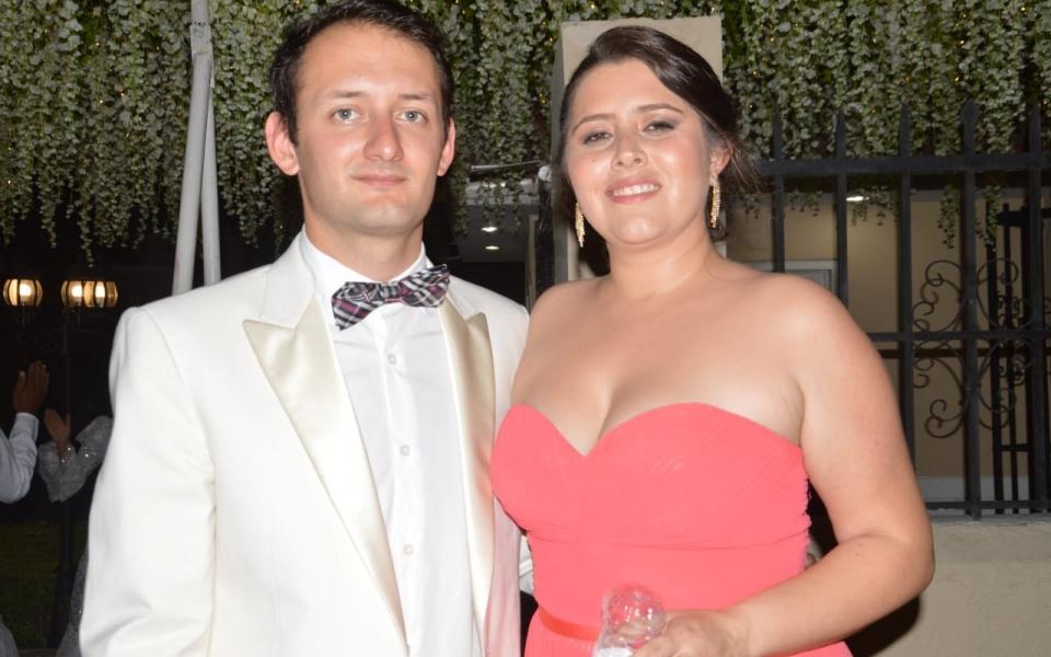 Sebastián Cifuentes y Carolina Pinzón.