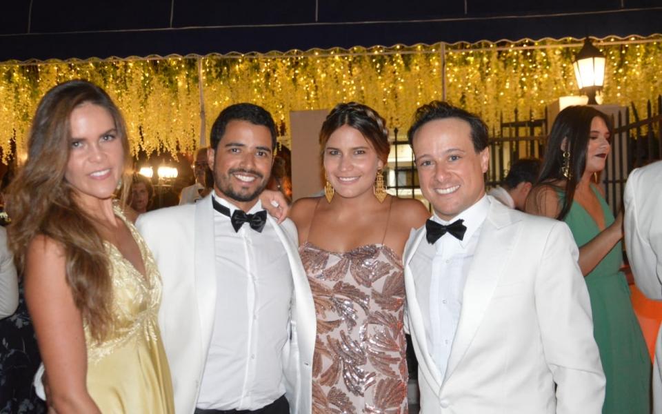 Chanthal, Rafael, Ana Álvarez y Nicolás A.