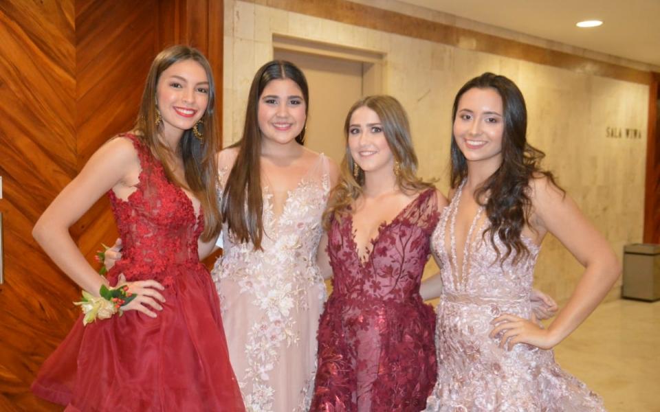 María Alejandra Pérez, Alejandra Flórez, Daniela Gnecco y Cristina Lacouture.