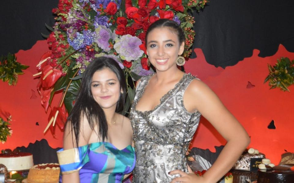 Mariana Celedón y Sofía Castillo.