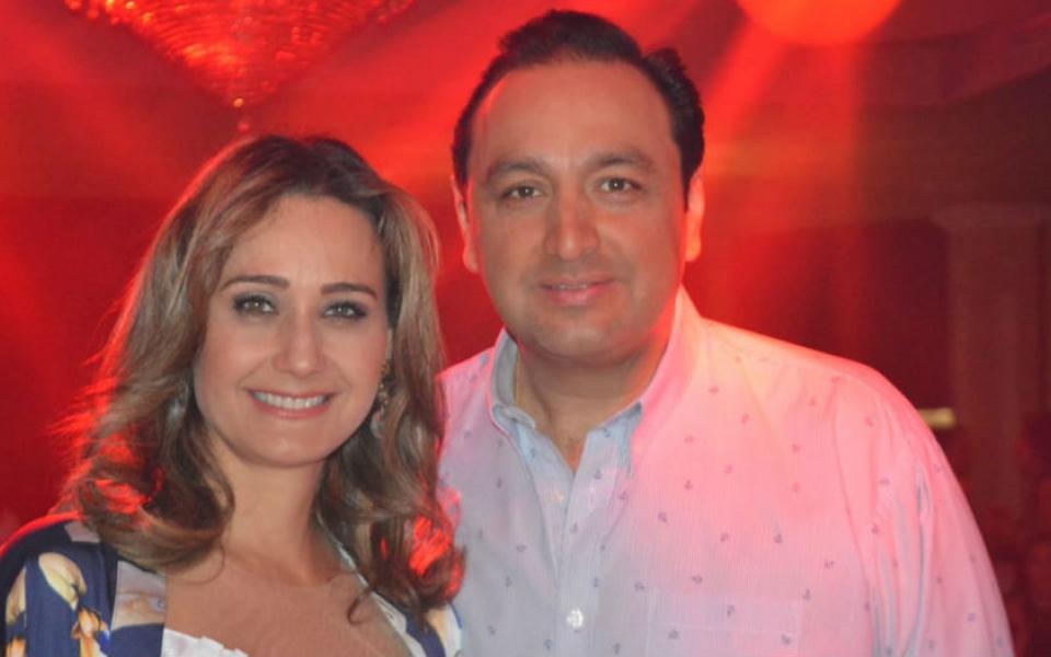 Inés María zabaraín y Jorge Alfredo Vargas.
