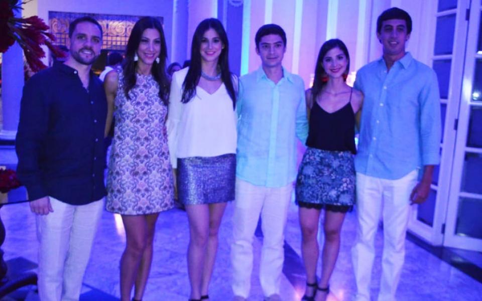 Pablo Narváez, Sarah Valencia, Adriana Valencia, Rafael Zambrano, Andres Jaramillo y Carlos Valencia.