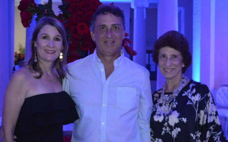 Francisco Lacouture Solano, Elena Lequerica y Rosalía Solano.