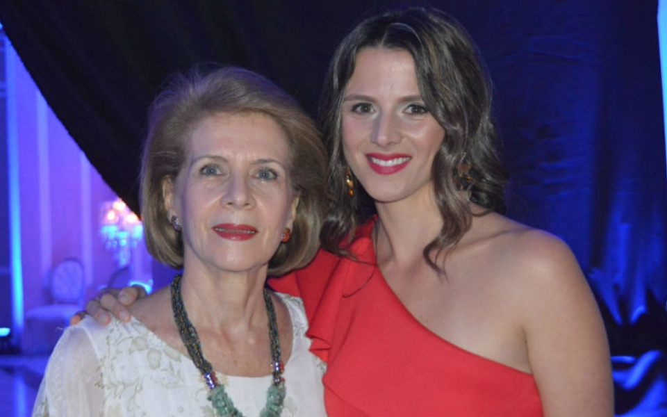 Cristina Zúñiga y Ana Cristina Bateman.