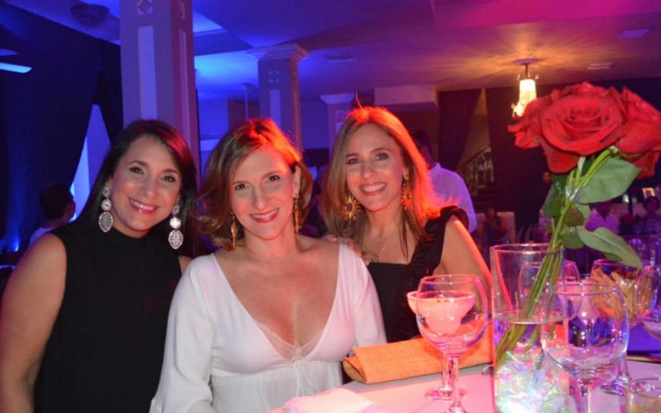 Cristina Dávila, Juliana Delgado y María Fernanda Giraldo.