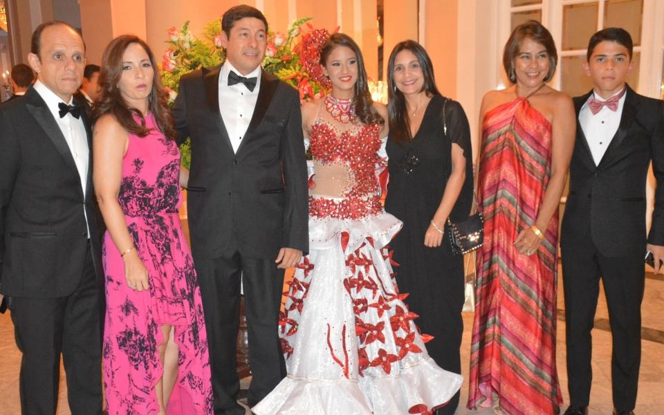 Víctor Cabello Murillo,  Luana Murillo ,Santiago  Vives, Alejandra  Sánchez , Rosana Castro, Ana  Cecilia  Abello