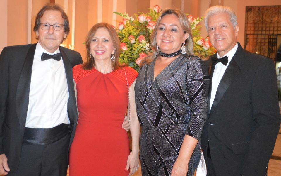 Julián Cabas, Luzdary  Rivera,  Margarita Rosa López y Milton Jaimes
