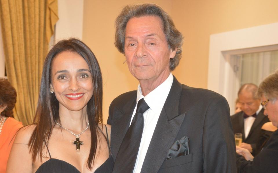 Lina  Campo y  Mauricio Peláez