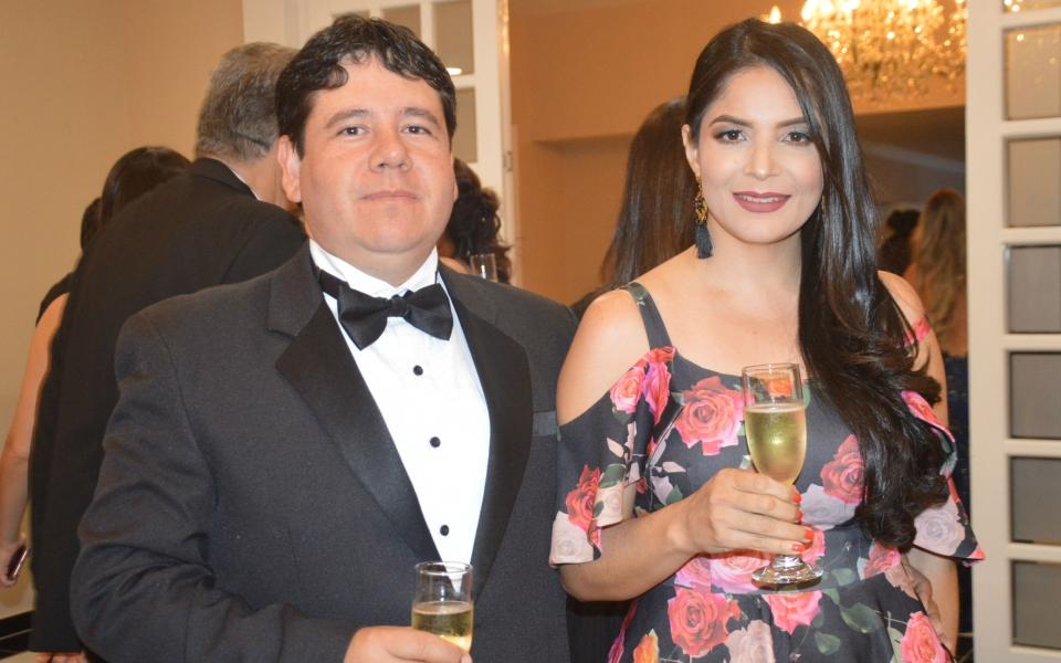 Rafael Noguera y Nirma Chicre
