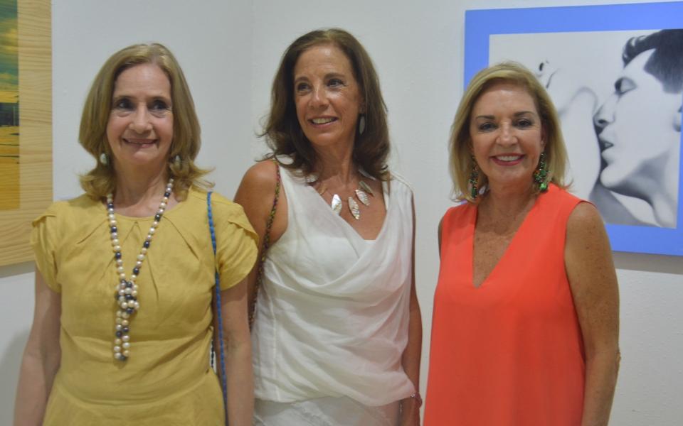 Gloria Palacio, Lola Castello y Marce Alzamora.