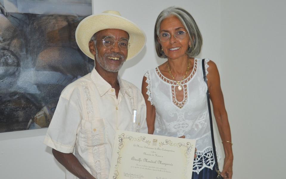 Adaulfo Mendivil Manjarrez  y Lucía Arrazola