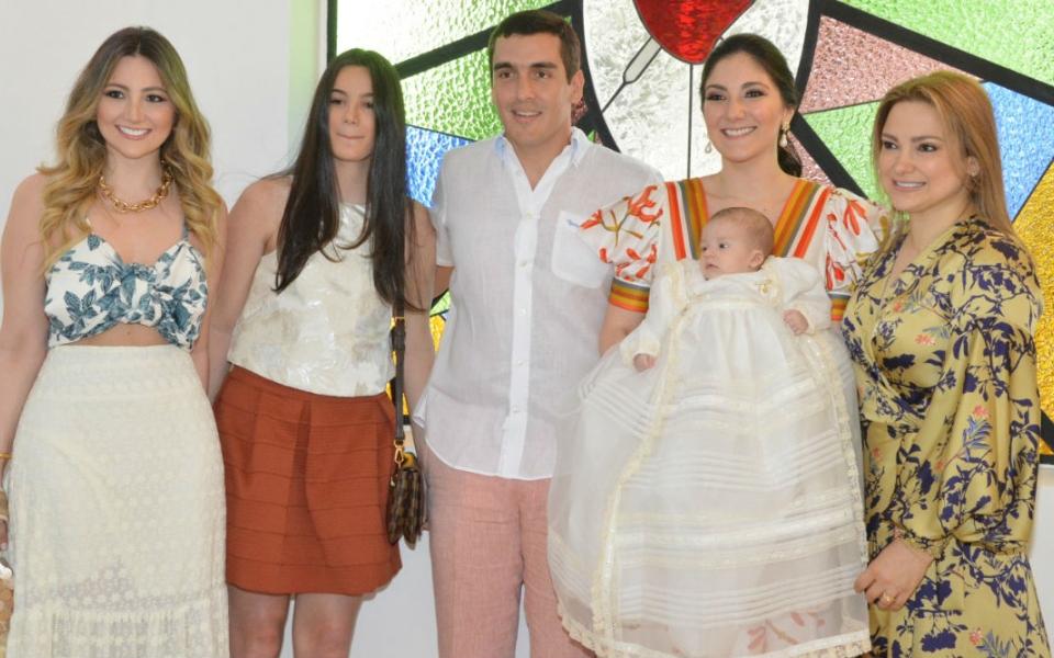Rafael Zúñiga, Manira Díaz Granados, Rafael Ignacio Zúñiga Díaz Granados, María de los Ángeles Char.