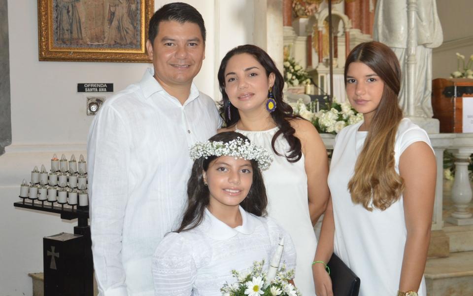 Kilson Soffía, Joanna Jiménez, Gabriela Soffia y Valeria Soffia.