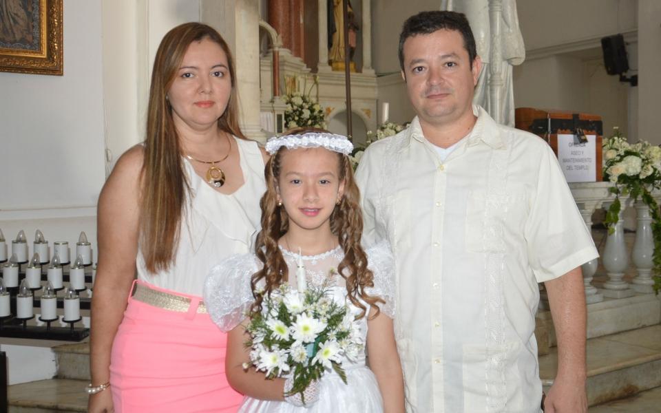 María Isabel Posada, Raul Posada y Yenny Caballero