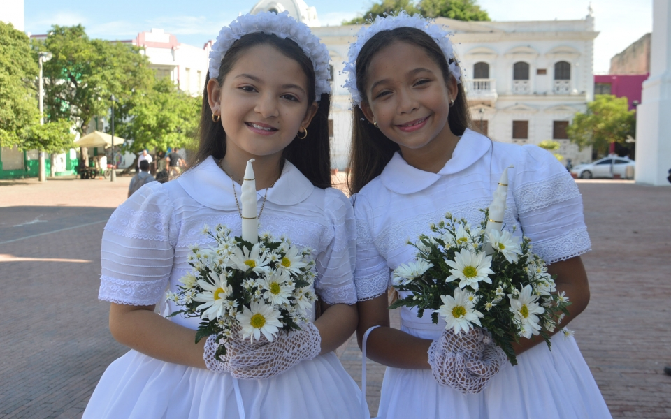 Isabella Padilla y Saray Gómez Burges