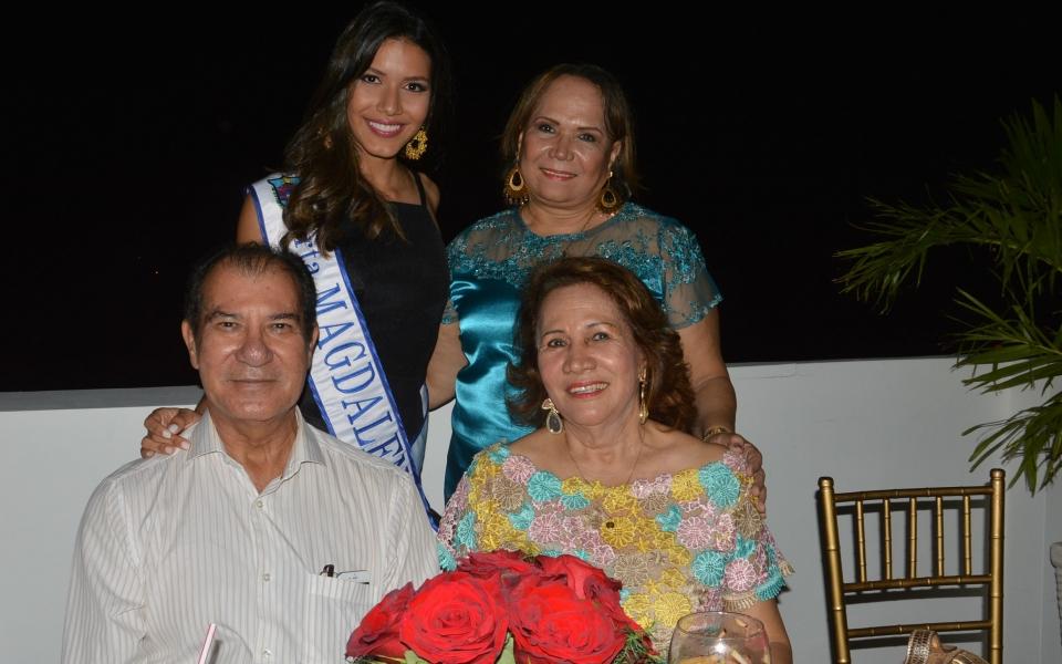 Alonso Ferrer, María Teresa Rovira y Maty Rovira