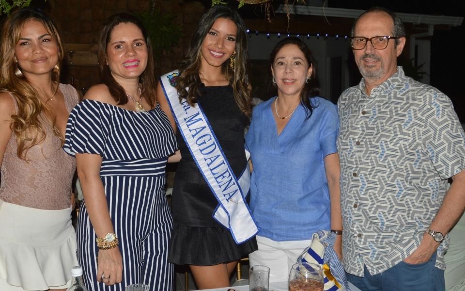 Ana Margarita Bermudez, Martha Ibarra, María Claudia Díazgranados, Samara Saghair.