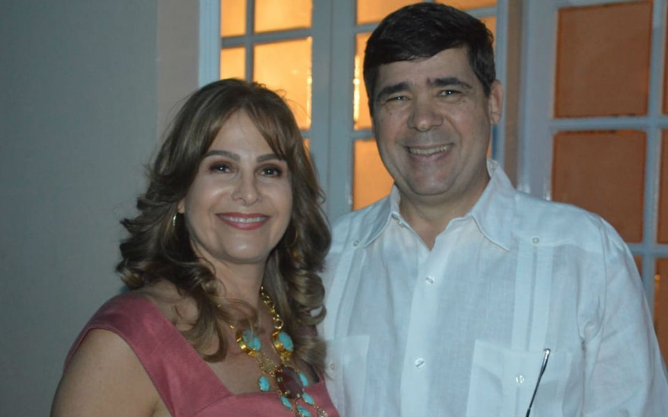 Jesús Manrique y Beatriz Vives