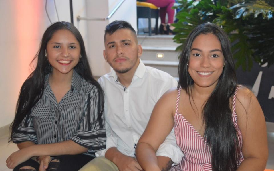 Valentina Serrano Aroca, Óscar Iván Peña Rendón y María Fernanda Cormane