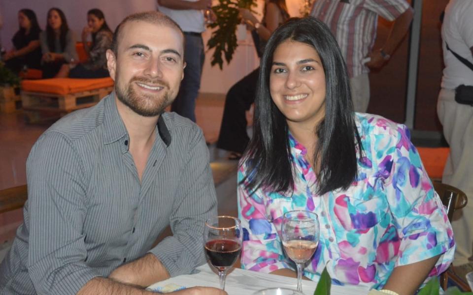 Shadya Villegas y Diego Acevedo