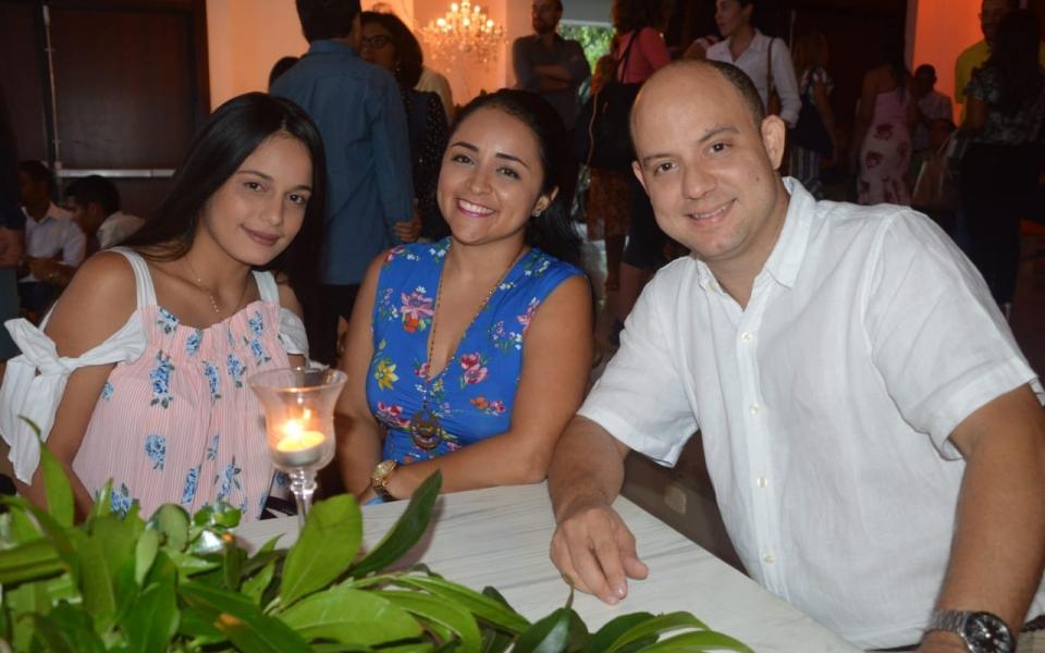 Francisco Castro Fuentes, Ana María Murillo y Yuritza Pacheco Perea