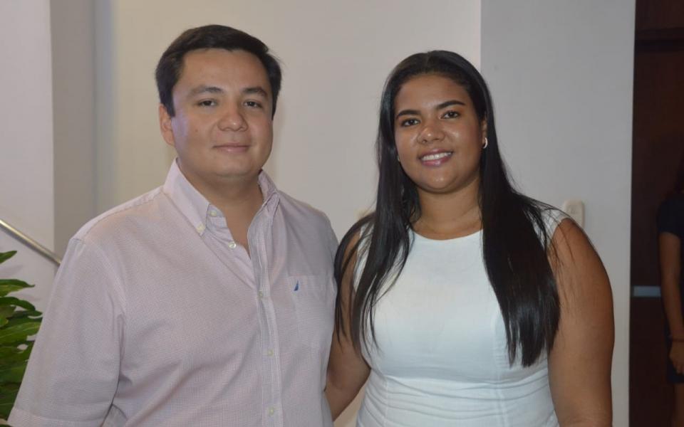 Juan Pablo Santrich y María Alejandra Olarte