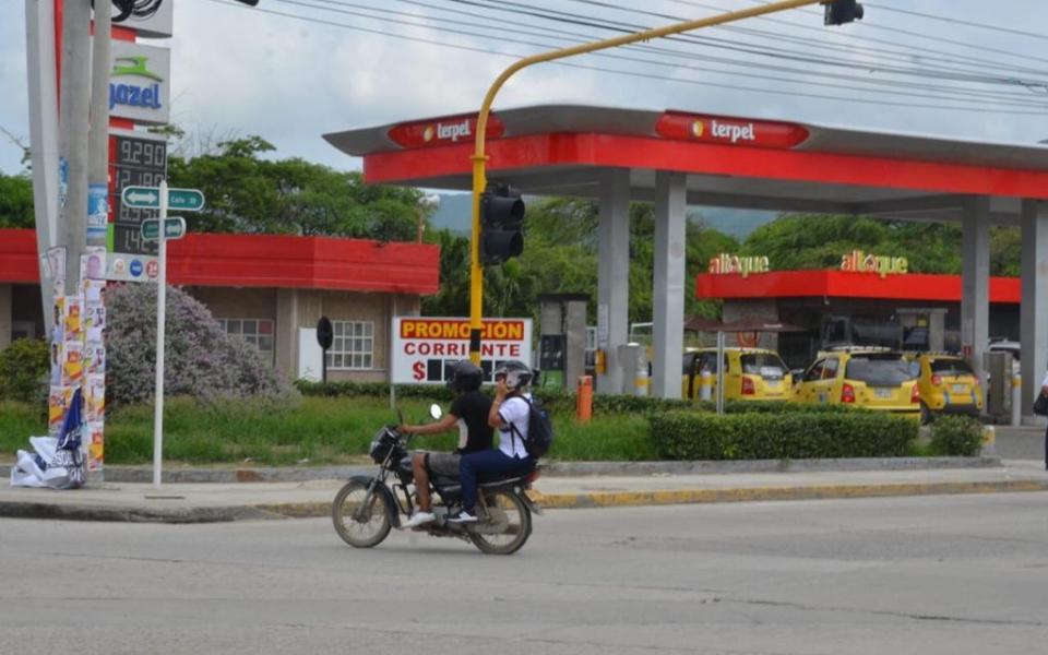 Día sin parrillero en Santa Marta.