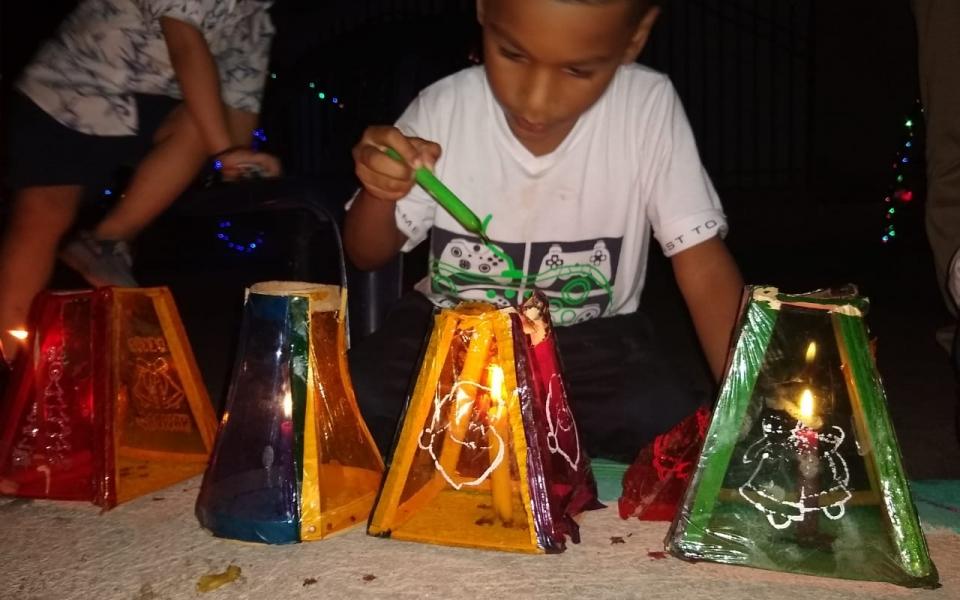 Noche de las Velitas en Santa Marta