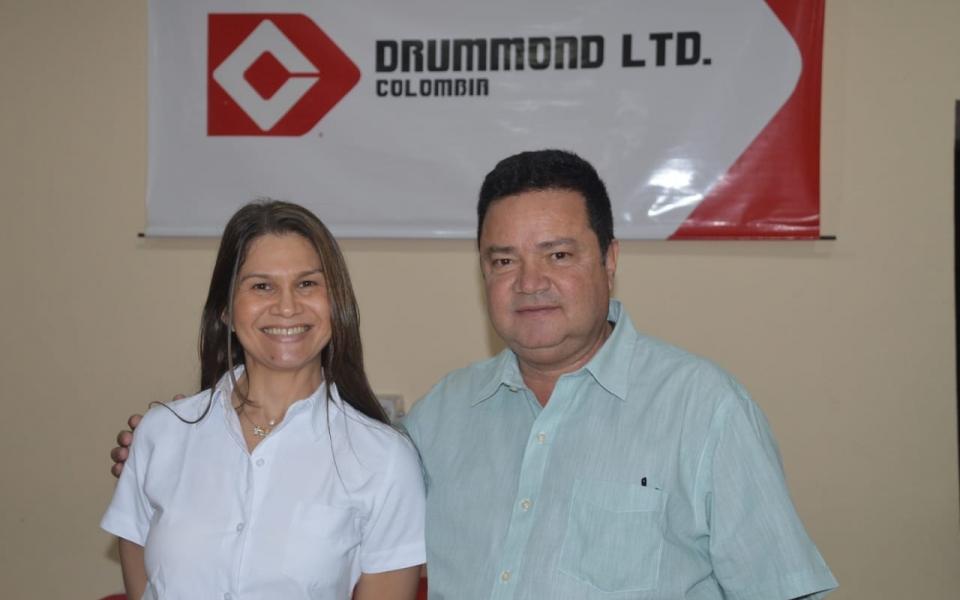 Margarita Saade y Álvaro Daza