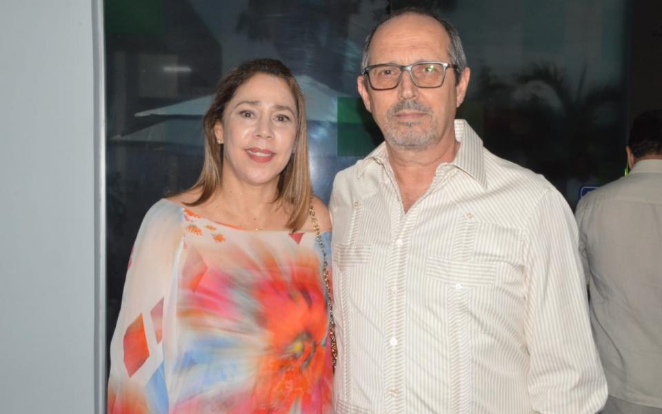 María Claudia Díaz Granados y Francisco Escobar.