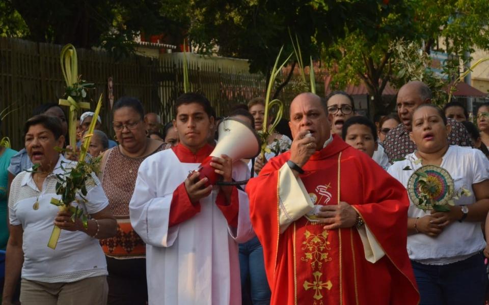 Devoción en la Semana Santa